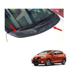 Cowling Cricket Boards Cover Carbon Black 1Pc For Honda Jazz Fit GK5 2014 - 2017