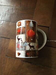 Cha Cult Reindeer Porcelain Mug BNWT