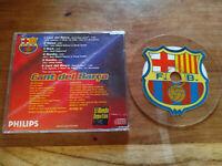 Himno Oficial del F.C. Barcelona CD Transparente con escudo 6 canciones 1999 - T