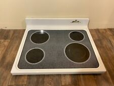 New listing Ge Part# Wb62T10786 Glass Cooktop Assembly With Heating Elements White