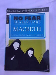 Macbeth Paperback William Shakespeare  Paperback EUC