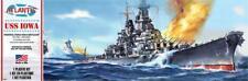 Atlantis USS Iowa World War II Battleship 1:535 scale ship model kit new 369