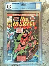 Marvel Comics Ms Marvel #1 CGC 8.0 1st App of Carol Danvers as Captain Marvel