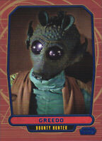 2012 Topps Star Wars Galactic Files Blue Parallel #104 Greedo 215/350