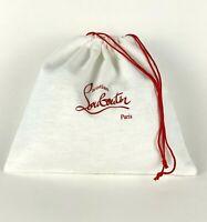 "Christian Louboutin New Storage Dust Bag Travel Pouch Drawstring 10.5""x9.5"""