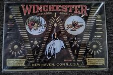 """""""Vintage"""" WINCHESTER ARMS CO. """"BULLET"""" SIGN....NICE!"""