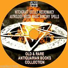 400 RARE OLD BOOKS WITCHCRAFT WICCA BLACK MAGIC SPELLS OCCULT RITUALS NEW PCDVD
