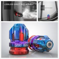 CNC Aluminum Alloy Motorcycle Wheel Tire Gas Cap Cover Moto Accessories Blue&Red