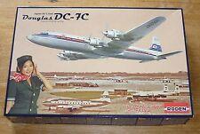 Roden 1/144 scale Douglas DC-7C Japan Air Lines plane kit