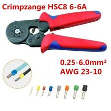 Self Adjusting Car Wire Terminal Crimping Tool Ferrule Crimper Plier 0.25-6mm²