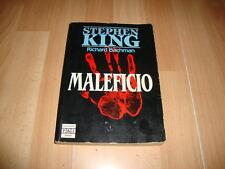 MALEFICIO STEPHEN KING LIBRO PRIMERA EDICION DEL AÑO 1986 EN BUEN ESTADO