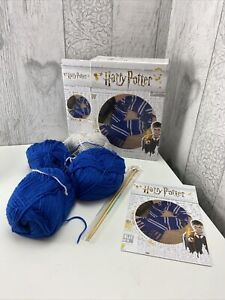 Harry Potter Ravenclaw House Scarf Kit Knit Your Own Craft New Box Opened