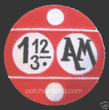 "Space:1999  1.12/3 AM Logo  3"" Uniform Patch- FREE S&H  (SPPA-1903)"