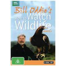 Bill Oddie's How To Watch Wildlife : Series 2 (DVD, 2014, 2-Disc Set) Region 4