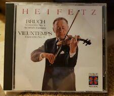 Bruch Vieuxtemps Heifetz NSOL Sargent RCA Red Seal CD
