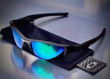 Oakley Flak Jacket 1 black with Jade Green XLJ polarised lenses.