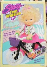 1991 Kenner Stacy Two Wheeler Doll And Accessories. (13F)