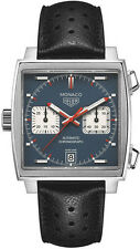 CAW211P.FC6356 | TAG HEUER MONACO | BRAND NEW AUTHENTIC STEVE MCQUEEN MENS WATCH