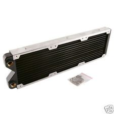 360 Radiator Copper For Computer Liquid Water Cooling Chromed Edges G1/4 Thread