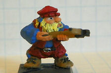 Warhammer Games Workshop HHG DWARF crossbow 1984 with stand painted metal #65