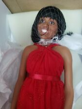 Nib Ashton Drake Galleries Michelle Obama Inauguration 2013 Red Dress