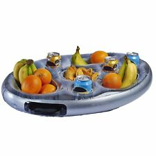 Inflatable Floating Spa Bar - Pool Hot Tub Side Tray For Food, Drinks & Snacks