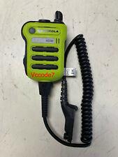 MOTOROLA XE500 GREEN Extreme Remote Speaker PMMN4106 HIGH IMPACT GREEN