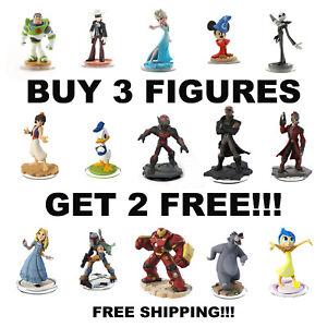 Disney Infinity Figures 1.0 2.0 3.0 Pick Your Figures Buy 3 Get 2 Free