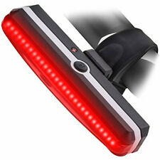 LED Bike Front Rear Light USB Rechargeable 6 Modes Lamp Waterproof Ultra Bright