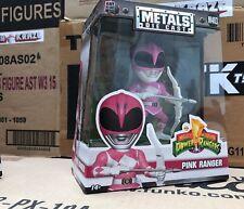 Power Rangers Ranger Rosa 4 pulgadas metales Die-Cast Figura De Acción