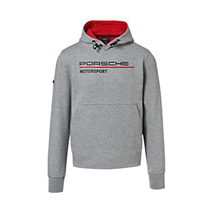Porsche Driver's Selection Men's Hoodie (Gray)- Motorsport Collection