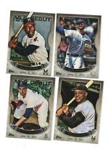 2016 Topps Series 1 MLB Debut Gold Set of 40