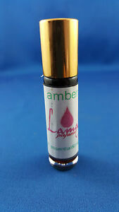Amber Essential & Fragrant Oil Mix No Alcohol 100% Oil Highly Concentrated