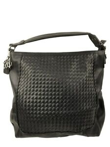 KADIE ASHMAN LAYLA WESTERN BLACK WEAVE LEATHERETTE CONCEALED CARRY PURSE NEW