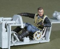 1/35 Resin Figure Model Kit German Pilots WWII WW2 Unassambled Unpainted