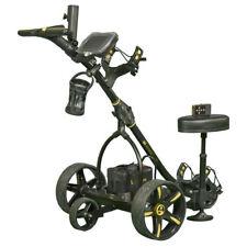 2018 Bat Caddy X3R Black Remote Control Electric Golf Cart Trolley + Accessories