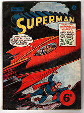 Australian SUPERMAN 30 DC Comics 1950's w Superman 72 cover UK