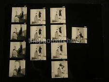 70s Fashion VINTAGE Oversize 11x14 CONTACT SHEET By Harry Langdon OS99