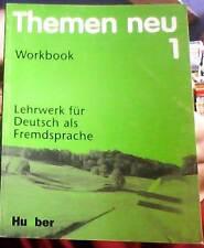 themen neu - 1 - workbook - lehrwerk fur deutsch als fremdsprache -