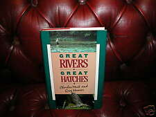 Great Rivers Great Hatches Charles Meck Greg Hoover 1st