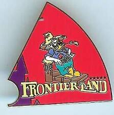 Disney WDW Florida Project Pin Board Exclusives Frontierland Pin