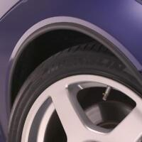E-Tech Wheel Arch Guard Trim / Wheel Arch Protector Universal - Black