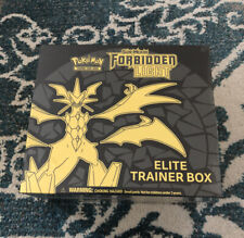 Pokemon TCG Sun & Moon SM6 Forbidden Light Elite Trainer Box New Sealed