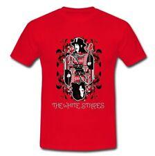 The White Stripes American rock duo The Raconteurs T-Shirt Size S M L XL 2XL