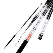 Fishing High Carbon Telescopic Rod Pole Fiber Ultra Light Portable 3.6M-8.0M