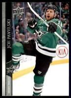 2020-21 UD Series 1 French #61 Joe Pavelski - Dallas Stars