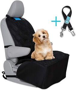 Dog Car Front Seat Cover Luxury Stylish Heavy Duty Washable Cars Suv's+ SeatBelt
