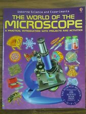 THE WORLD OF THE MICROSCOPE. PAPERBACK. NEW