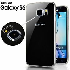 COVER Custodia Ultra Slim Silicone 0.33mm Trasparente TPU per SAMSUNG GALAXY S6