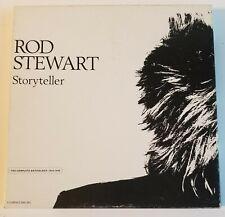 ROD STEWART Storyteller 4 CD Boxed Set w/ Booklet